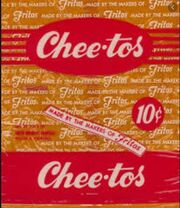 Cheetos Snack Old