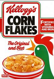 Kellogg's Corn Flakes 1968 Cereal