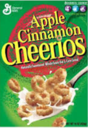 Apple Cinnamon Cheerios 1998
