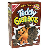 Teddy Grahams (chocolate) box 2003