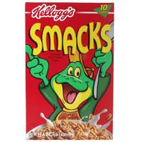 Kellogg's Smacks box 1990s