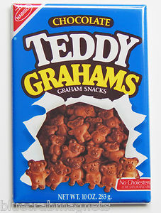 Teddy Grahams (chocolate) box 1988