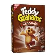 Teddy Grahams (chocolate) box old style