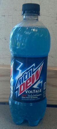 MTN Dew Voltage bottle