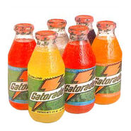 Modern glass gatorade