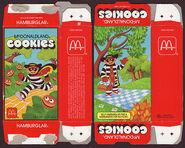 McDonald's McDonaldland Cookies box (Hamburglar) 1987