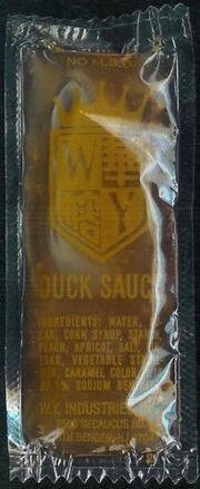 WY Industries Duck Sauce packet
