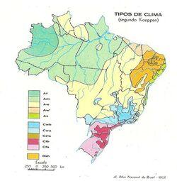 Mapa do clima