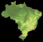 Brasil em relevo - EMBRAPA