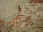 Wall painting persia. Achaemenid Empire