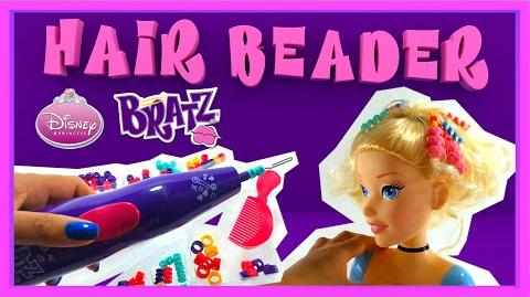 Disney Princess Cinderella Styling Head with Bratz Hair Beader - Create a cool new look!