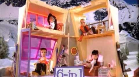 Bratz Wintertime Chill-Out Ski Lodge Commercial! (2004)