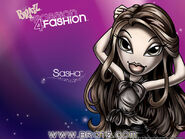 Bratz Passion 4 Fashion Sasha Wallpaper
