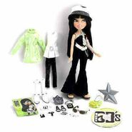 Bratz Flashback Fever Jade Doll