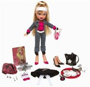 Bratz Flashback Fever Cloe Doll