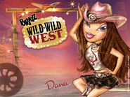 Bratz Wild Wild West Dana Wallpaper