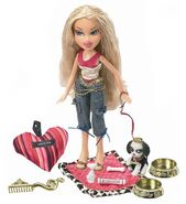 Bratz Pampered Pupz Cloe Doll