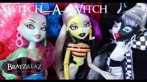 NEW Bratzillaz Switch-A-Witch Wave 1! (Spring 2013 Review)