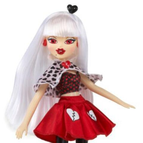 Jade's doll wearing the dress she wore in <a href=