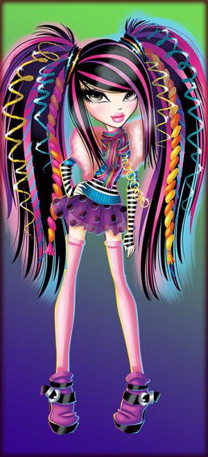 bratzillaz coloring pages online - photo#29