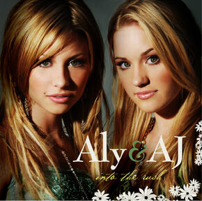 Aly & AJ Into The Rush album cover