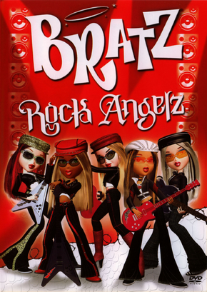 Bratz Rock Angelz DVD cover