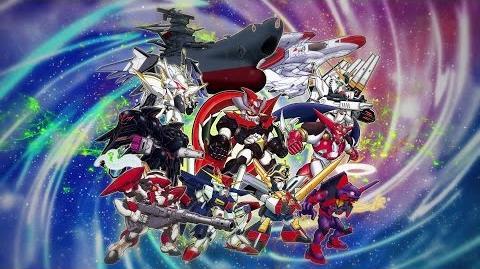 PS4 PS Vita「スーパーロボット大戦V」第1弾PV