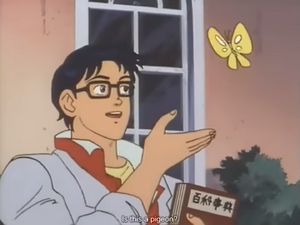 Katori Yuutarou Butterfly (Is this a pigeon meme) 04 36 Fighbird-3