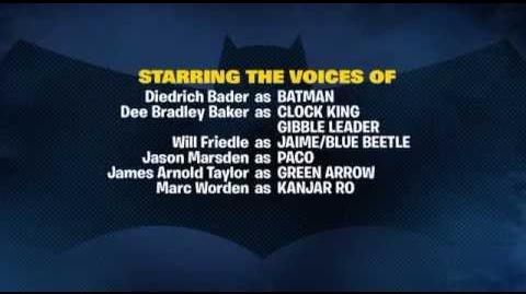 Batman The Brave and the Bold Theme & Credits