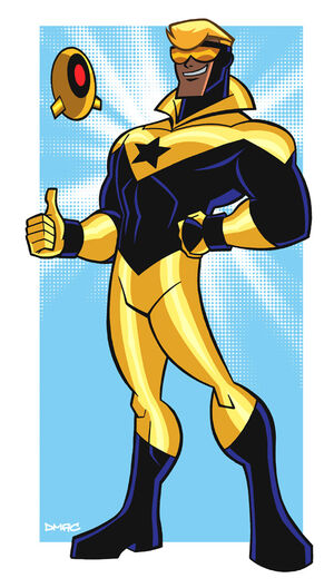 Booster Gold by D MAC