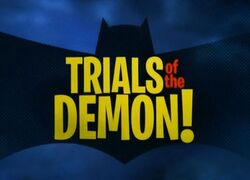 Trials of the Demon!