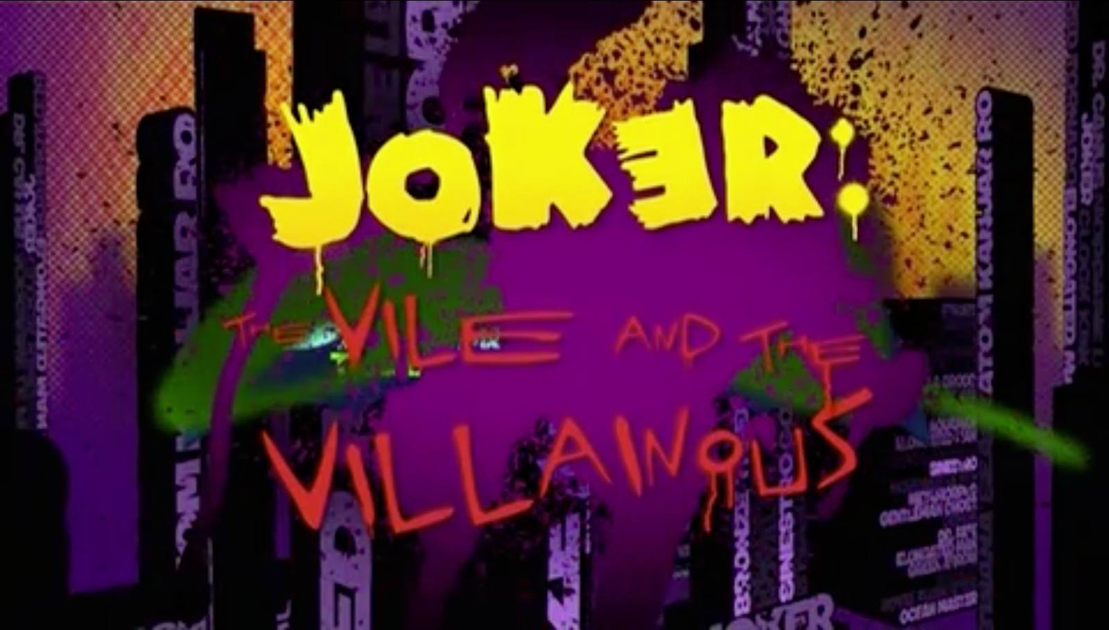 Joker the vile and the villainous batman the brave and the bold jtvatv ccuart Image collections
