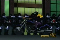 Black canarys motorcycle