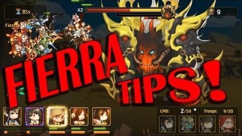 Brave Cross - Fierra Max Damage Tips