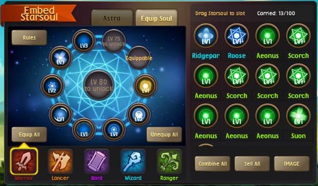 Astral soul system