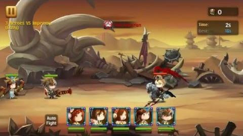 Brave Cross - 3 heroes vs Imperion EASY
