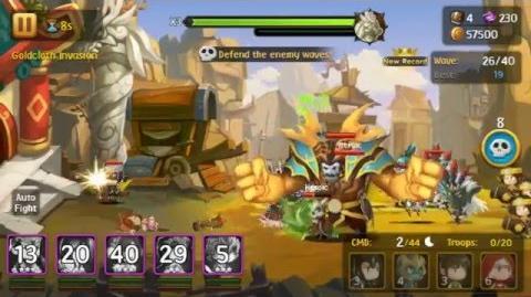 Brave Cross - Goldcloth Invasion Campaign