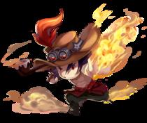Flamefist-Character