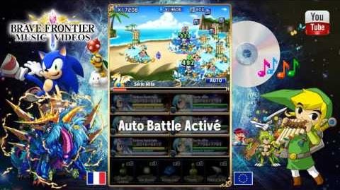 Brave Frontier Europe - Serin vs Serin