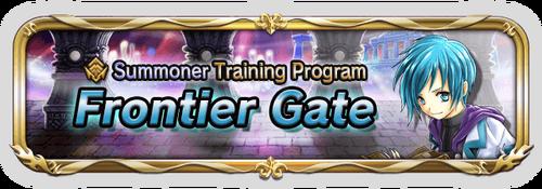 Frontier gate banner