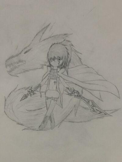 Fulina, the Storm Wyvern