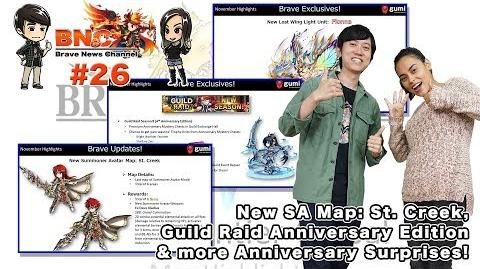 【ブレフロ】【BNC】SA Map St. Creek, Guild Raid Anniversary Edition & more Anniversary Surprises! 【BNC】 26