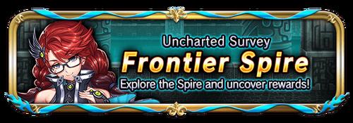 Frontier spire banner