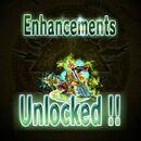 Enchantements unlock