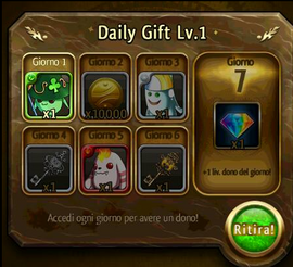 Daily Gift System