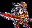 Schwertkämpferin Seria