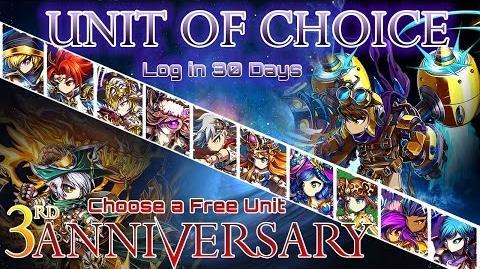 Unit of Choice 3rd Anniversary - Unité au choix 3eme anniversaire Podcast FR Sub ENG