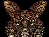Goldene Wölfe
