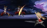 Edea from BravelyD battle image