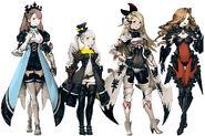 BDPB Four Maidens